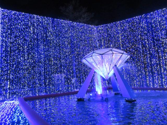 光のナイアガラのダイヤモンド