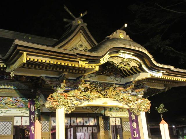 宝登山神社の社殿