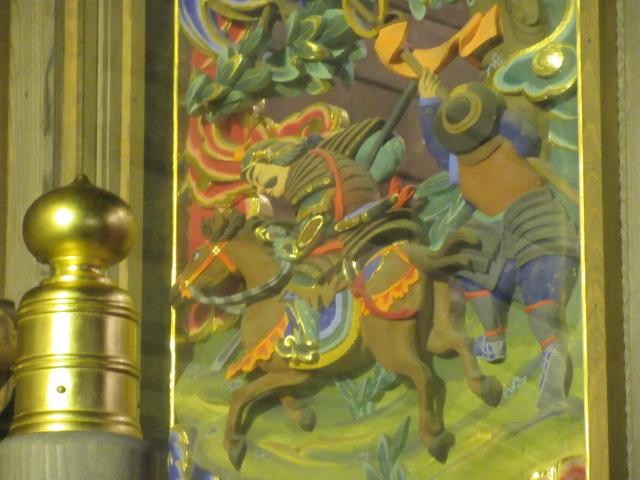 関羽の彫刻