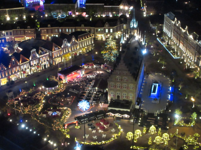 ドムトールンの展望台から見たアムステルダムシティ