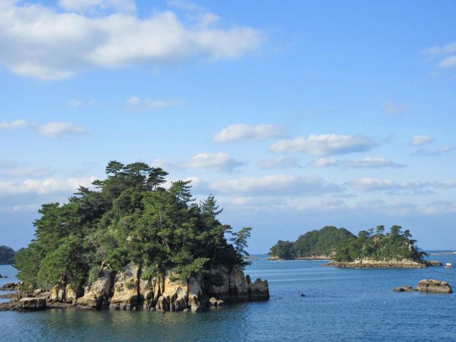 九十九島の島々