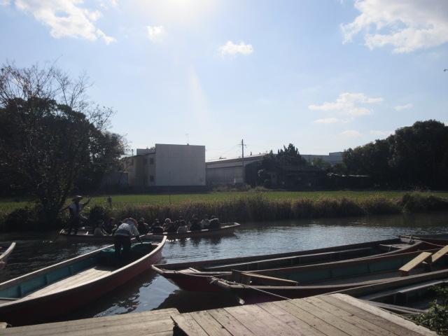 水郷柳川観光の船乗り場