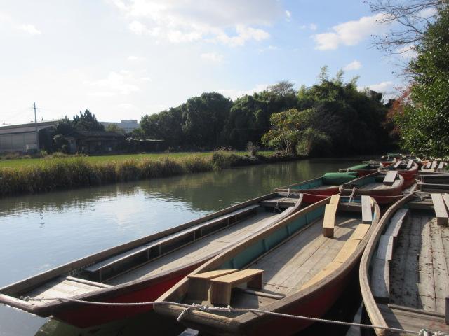 水郷柳川観光のどんこ舟