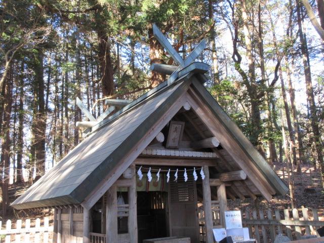 宝登山神社奥宮の社殿