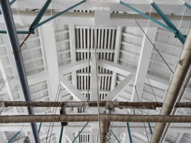 トラス構造の屋根