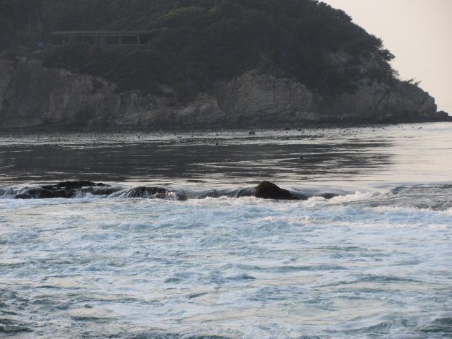 鳴門海峡の段差