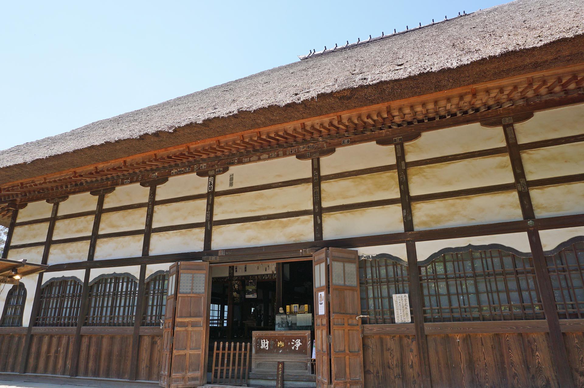 茂林寺の本堂
