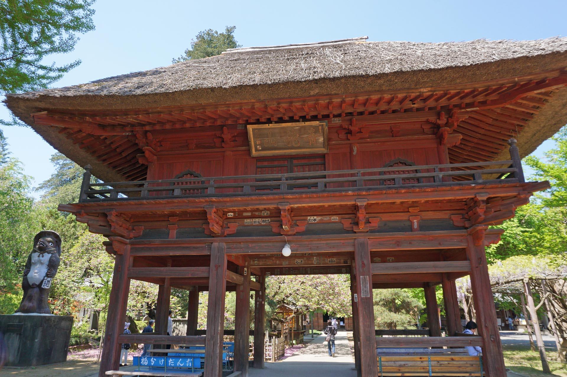 茂林寺の山門