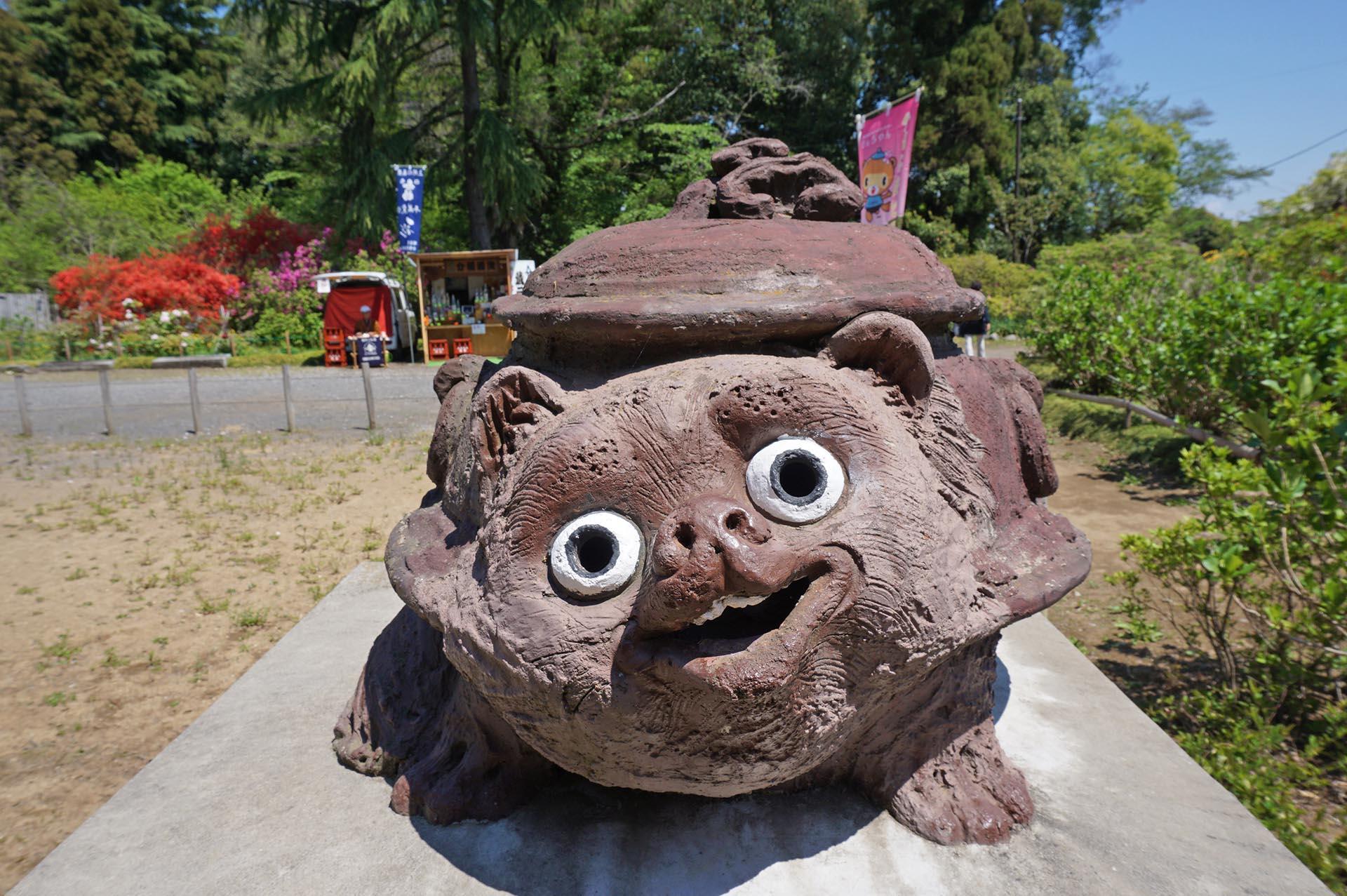 茂林寺の分福茶釜