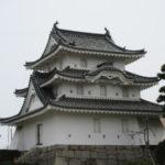 高松駅近くの観光地、日本三大水城の高松城跡(玉藻公園)に行きました