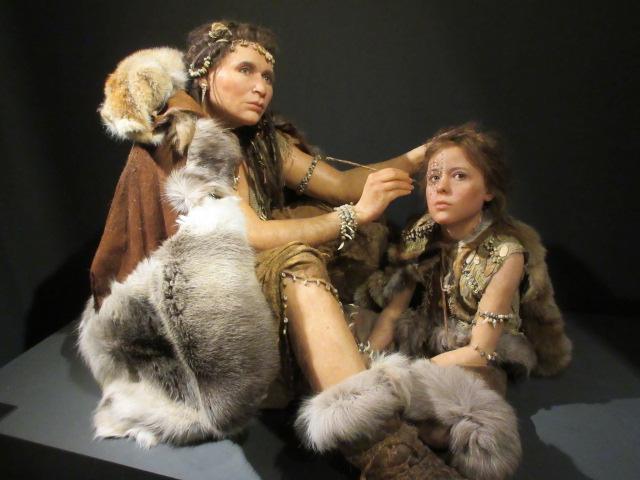 クロマニョン人の模型