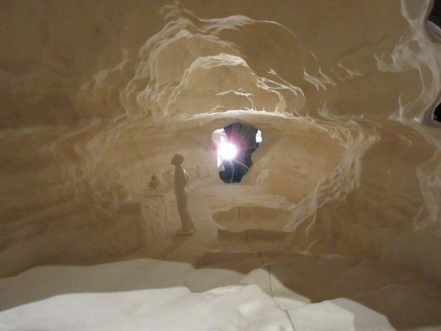 ラスコー洞窟内部