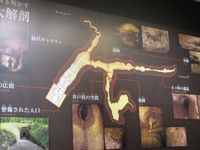 ラスコー洞窟全体図