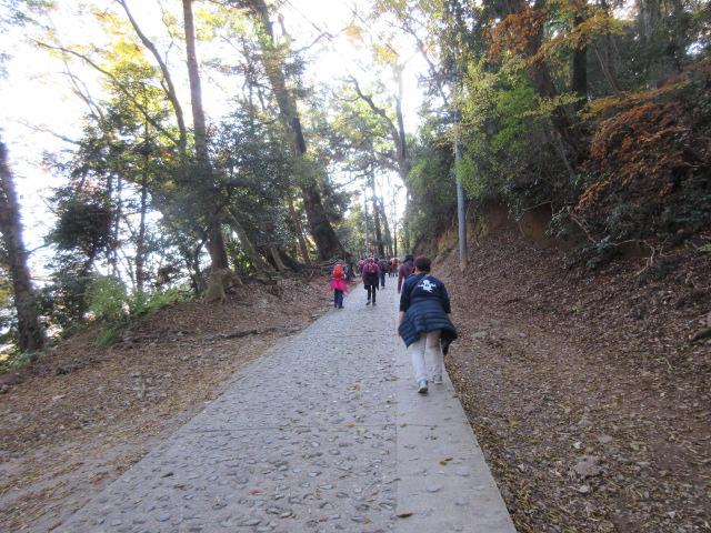 一号路の徒歩コース