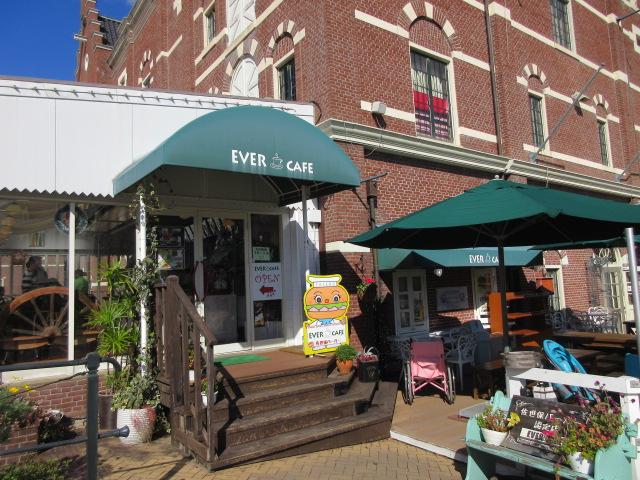エバーカフェの店舗外観