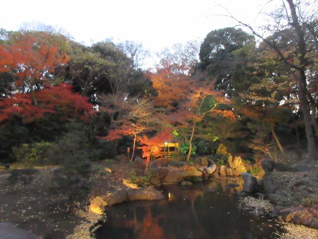 夕方の滝見茶屋