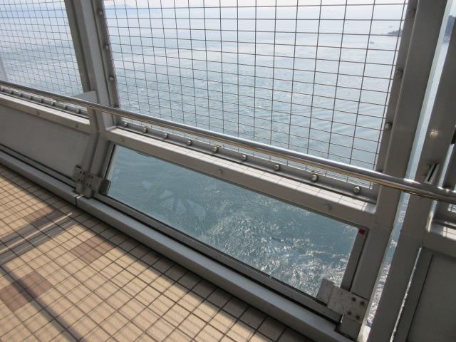 遊歩道から見える鳴門海峡