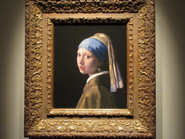 フェルメールの真珠の耳飾りの少女