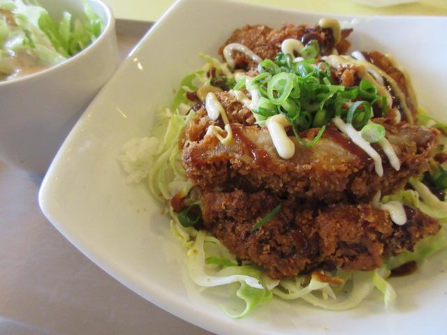 阿波尾鶏のチキンカツ丼