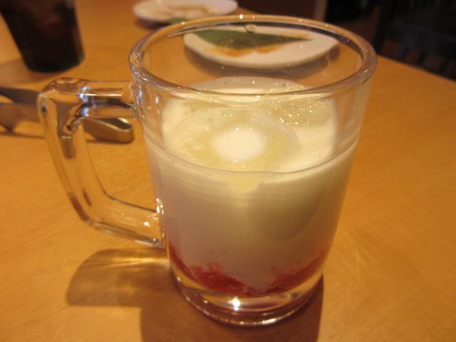 つぶつぶ苺ミルク