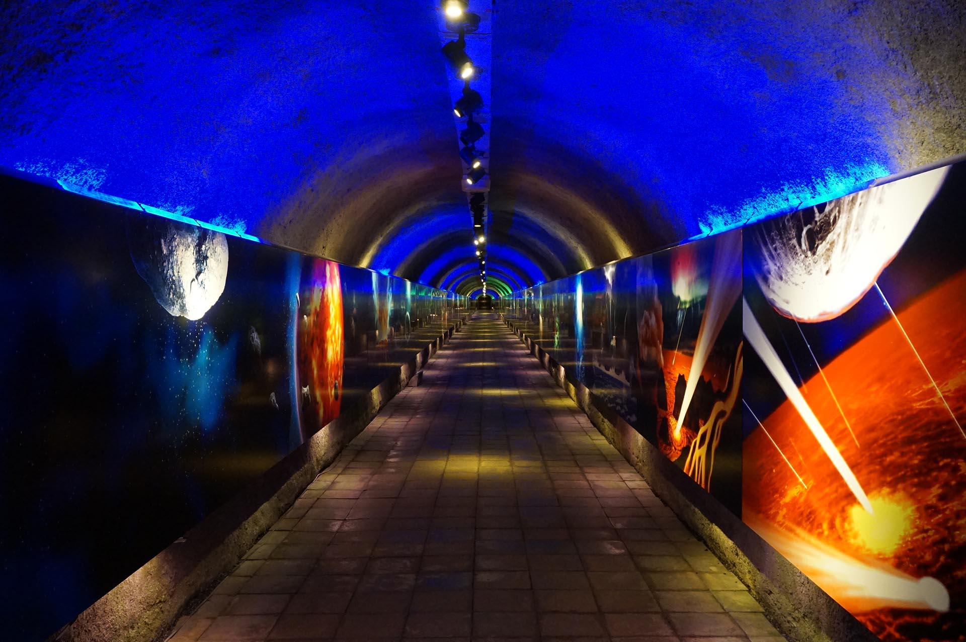 秋芳洞の三億年トンネル