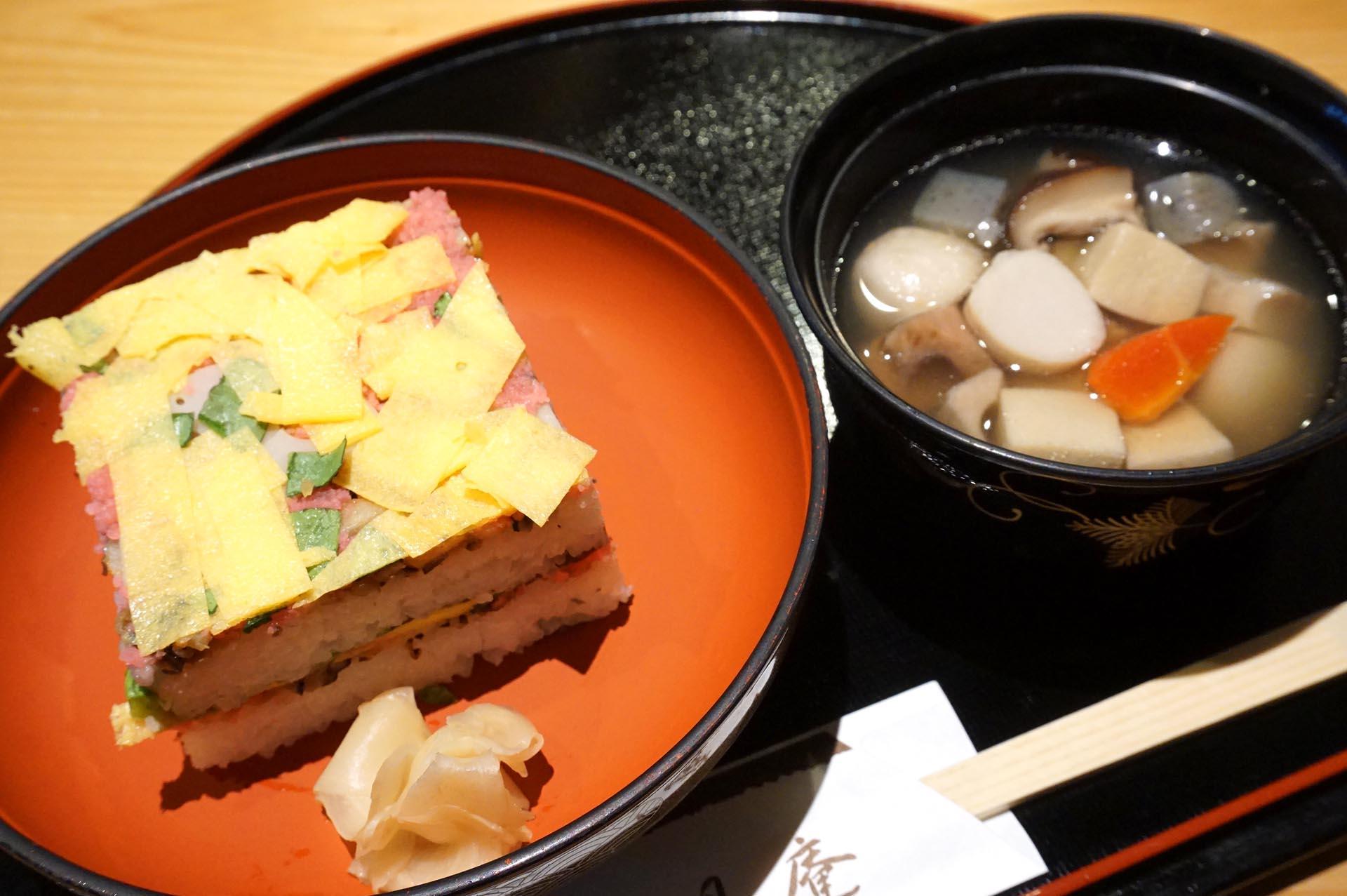 半月庵「いをり」の岩国寿司と郷土料理「大平」