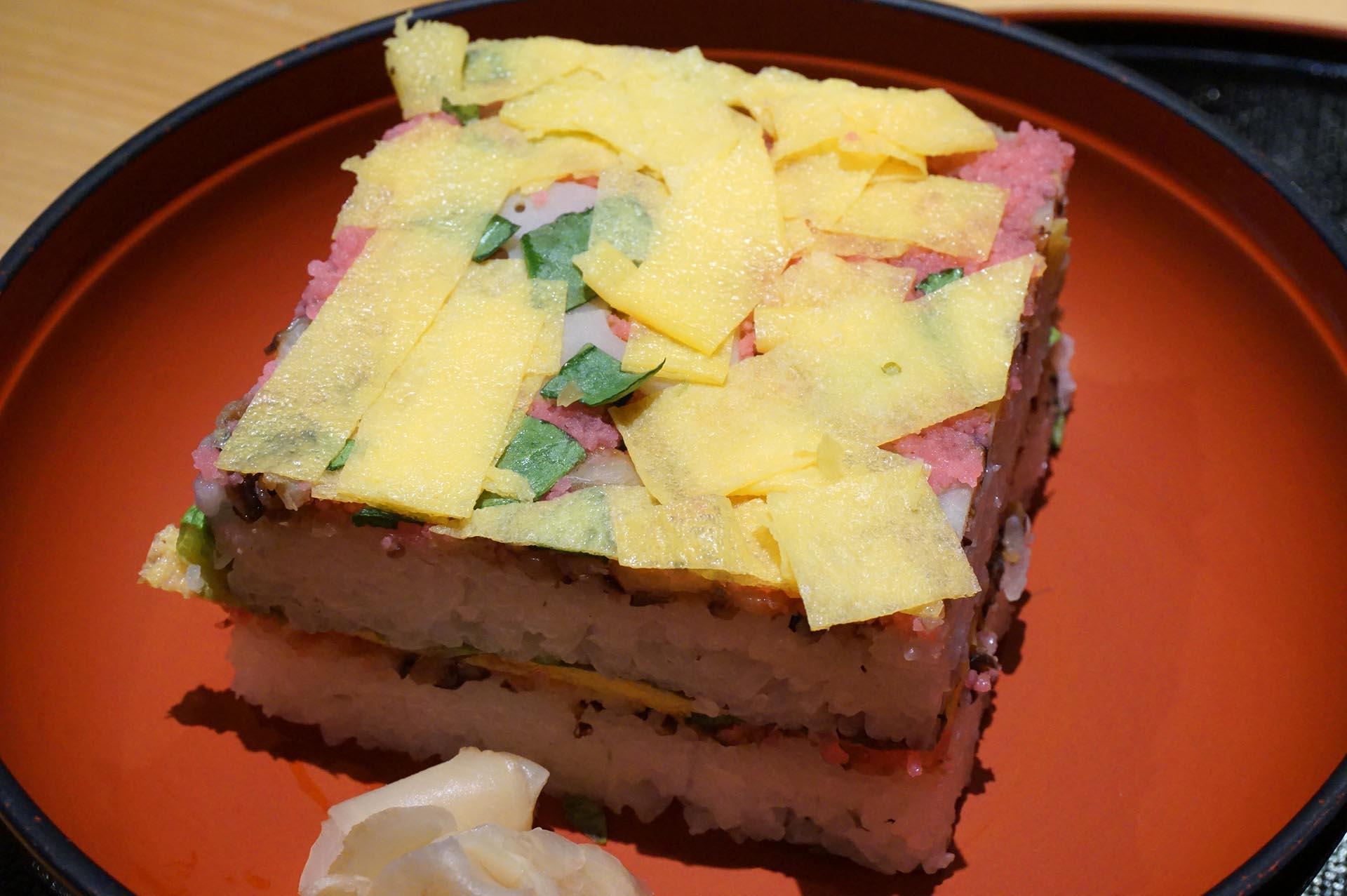 半月庵「いをり」の岩国寿司