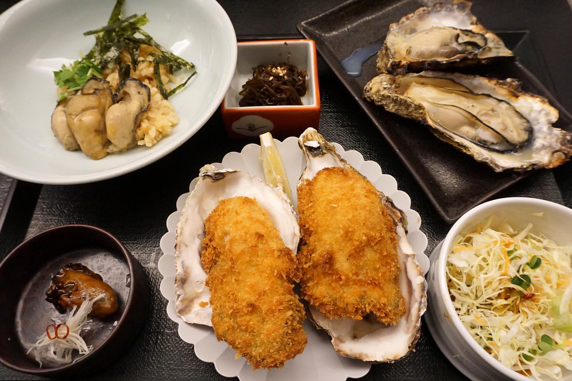 特選牡蠣屋定食
