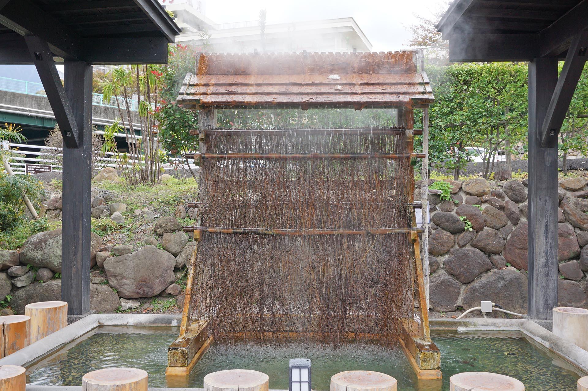 ひょうたん温泉の冷却装置
