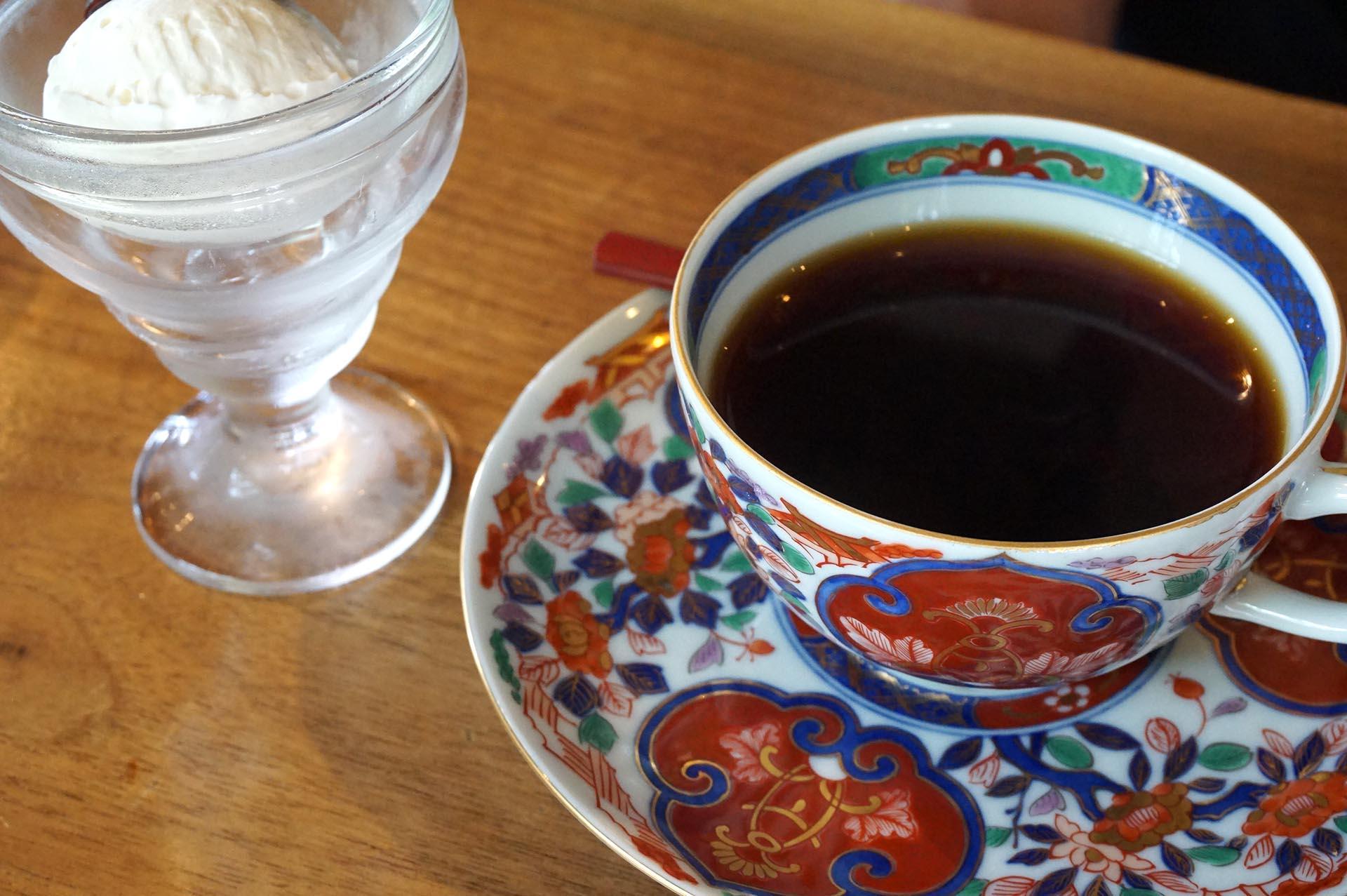 鞠智カフェのコーヒー