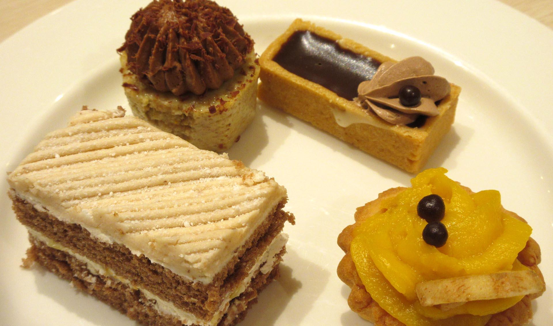 杉乃井ホテルの夕食(スイーツ)