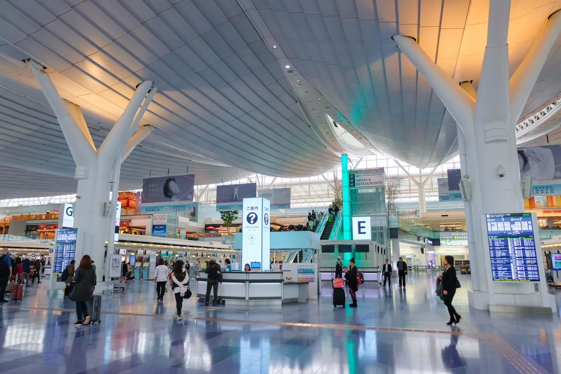 羽田空港のフリーWiFi